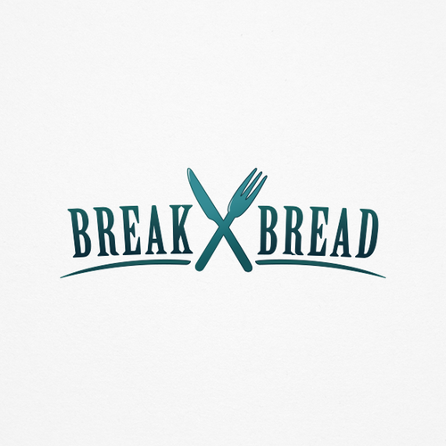 Dinner logo with the title 'Organic focused logo illustrating a food dinning experience'
