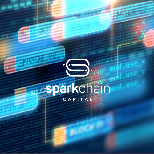 Unique logo with the title 'SparkChain Capital'