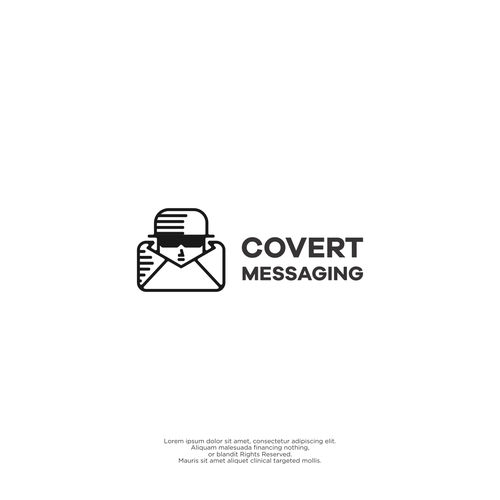 Massage logo with the title 'Covert Messaging'