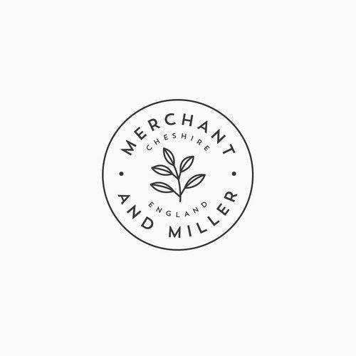 Tea logo with the title 'Logo for Merchant & Miller'