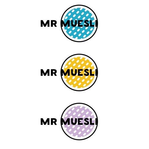 Breakfast logo with the title 'Mr Muesli'
