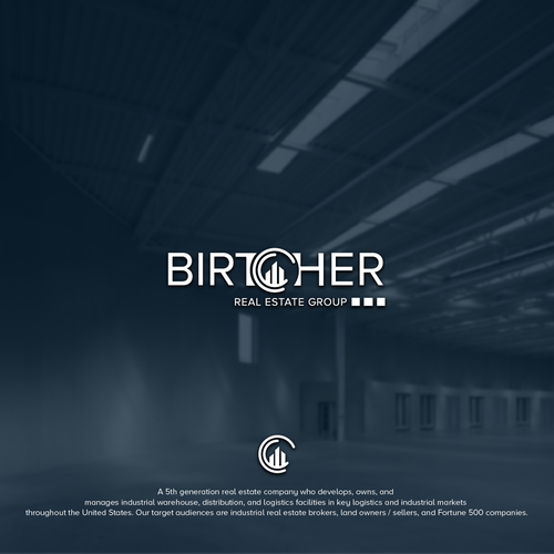 "Broker logo with the title '""Birtcher"" or ""Birtcher Real Estate Group""'"