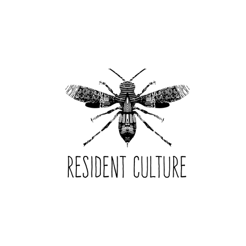 Culture logo with the title 'Resident Culture brewing & blending'