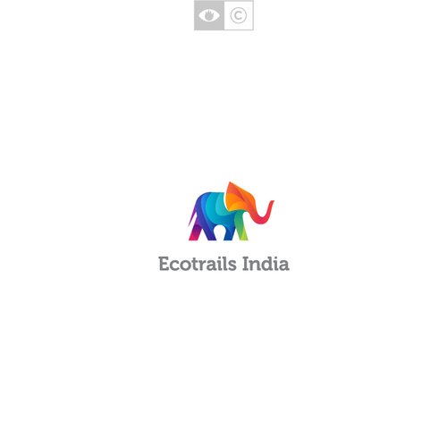 Positive logo with the title 'Ecotrails India'