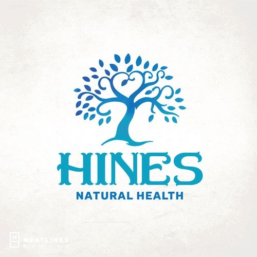Logo with the title 'Hines Natural Health'
