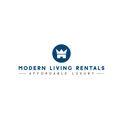 Contemporary logo with the title 'Real Estate Luxury'