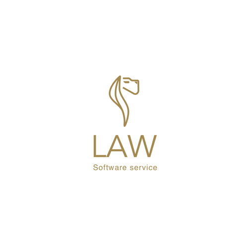 Legal and law firm logo with the title 'Lion Law'