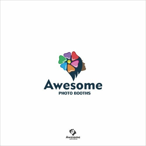 Shutter logo with the title 'Awesome photo booth'