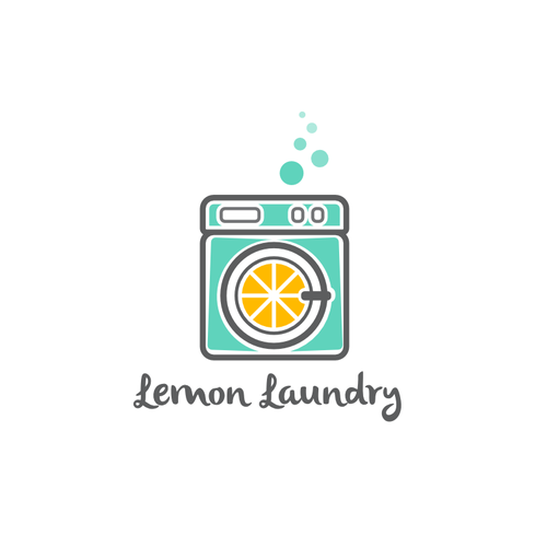 Laundry logo with the title 'Logo for a Laundry Business'