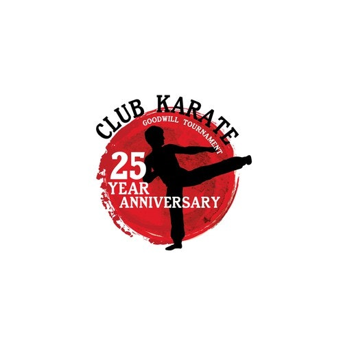 Club t-shirt with the title 'Logo for anniversary'