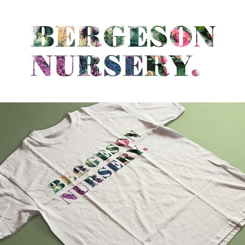 Floral t-shirt with the title 'Gardening T shirt'