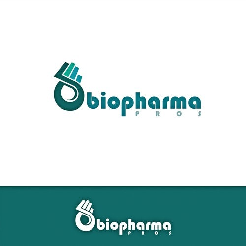 Biology logo with the title 'Logo for biopharma pros'