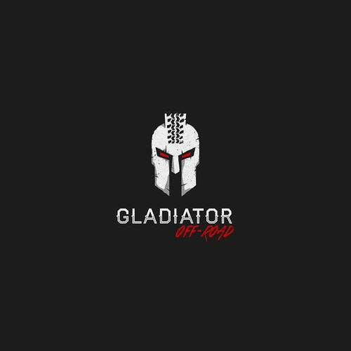 Spartan logo with the title 'Gladiator Off-Road'