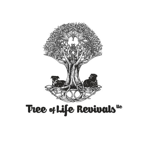 Key logo with the title 'Tree of Life Revivals'