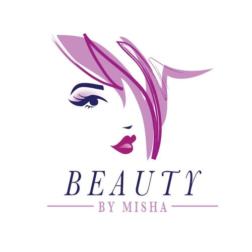 Face logo with the title 'Help Beauty By Misha with a new logo'