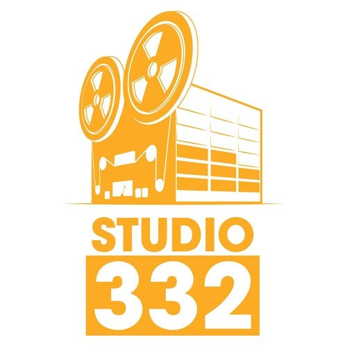 Perspective logo with the title 'Studio 332 logo design'